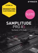 MAGIX Samplitude Pro X5 Suite (licencja elektroniczna, edukacyjna)