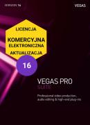 Vegas Pro 16 SUITE (elektroniczna, komercyjna, aktualizacja)