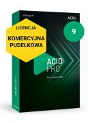 ACID Pro 9 (licencja pudełkowa, komercyjna)