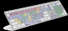 Klawiatura MAC dla Apple Final Cut Pro X (typ: US, Pro Line) LKBU-FCPX10-M89-US