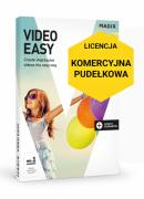 MAGIX Video Easy (wersja pudełkowa, licencja komercyjna)