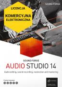 Sound Forge Audio Studio 14 (licencja elektroniczna, komercyjna)
