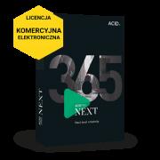ACID Pro NEXT 365 (licencja elektroniczna, komercyjna subskrypcja na 12 miesięcy)