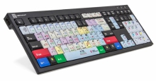 Klawiatura PC dla Davinci Resolve 12 + oświetlenie LogicLight (typ: US, NERO) LKBU-RES12-BJPU-US