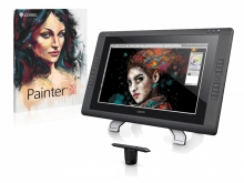 Tablet graficzny LCD Wacom Cintiq 22HD + Corel Painter 2018