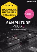 MAGIX Samplitude Pro X5 Suite (licencja elektroniczna, edukacyjna, aktualizacja)