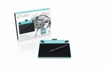 Tablet graficzny Wacom Intuos Draw S (A6) CTL-490DB niebieski + oprogr. + kurs obsługi PL