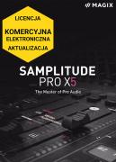 MAGIX Samplitude Pro X5 (licencja elektroniczna, komercyjna, aktualizacja)