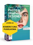 MAGIX Xara Photo & Graphic Designer (wersja pudełkowa, licencja komercyjna)