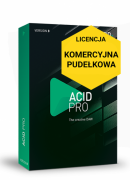 ACID Pro 8 (licencja pudełkowa, komercyjna)