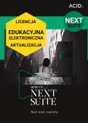 ACID Pro NEXT Suite (licencja elektroniczna, edukacyjna, aktualizacja)