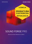 Sound Forge Pro 12 (licencja elektroniczna, edukacyjna, aktualizacja)