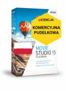 Vegas Movie Studio 15 Platinum PL (licencja pudełkowa, komercyjna)