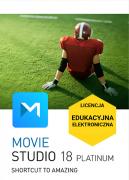 Movie Studio 18 Platinum (licencja EDUKACYJNA)