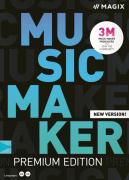 MAGIX Music Maker Premium Edition (licencja elektroniczna, komercyjna)