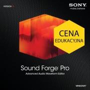 Sound Forge Pro 11 (licencja elektroniczna, edukacyjna)