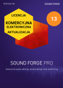 Sound Forge Pro 13 (licencja elektroniczna, komercyjna, aktualizacja)