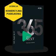 ACID Pro NEXT 365 (licencja pudełkowa, komercyjna subskrypcja na 12 miesięcy)