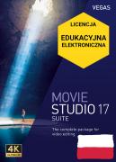Vegas Movie Studio 17 Suite PL (licencja elektroniczna, edukacyjna)