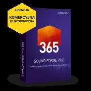 Sound Forge Pro 365 (licencja elektroniczna, komercyjna subskrypcja na 12 miesięcy)