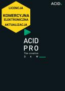 ACID Pro 10 (licencja elektroniczna, komercyjna, aktualizacja)