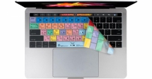 Nakładka LogicSkin MAC ADOBE Premiere Pro CC (US, MacBook Pro 2016) LS-PPROCC-MBP16-US