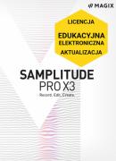 MAGIX Samplitude Pro X3 (licencja elektroniczna, edukacyjna, aktualizacja z poprzedniej wersji)