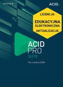 ACID Pro 8 Suite (licencja elektroniczna, edukacyjna, aktualizacja)