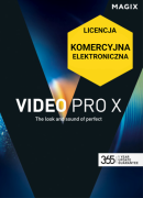MAGIX Video Pro X - ESD COM (elektroniczna, komercyjna)