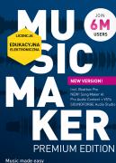MAGIX Music Maker Premium Edition 2022 (licencja elektroniczna, edukacyjna)