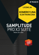MAGIX Samplitude Pro X3 Suite (licencja elektroniczna, komercyjna)