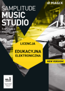 MAGIX Samplitude Music Studio (licencja elektroniczna, edukacyjna)