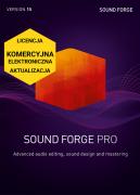 SOUND FORGE Pro 15 (licencja elektroniczna, komercyjna, aktualizacja)