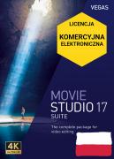 Vegas Movie Studio 17 Suite PL (licencja elektroniczna, komercyjna)