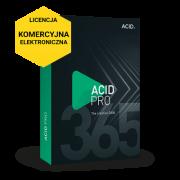 ACID Pro 365 (licencja elektroniczna, komercyjna subskrypcja na 12 miesięcy)