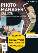 MAGIX Photo Manager Deluxe (licencja elektroniczna, edukacyjna, aktualizacja)