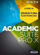 MAGIX Academic Suite Pro X (Video Pro X, Samplitude Music Studio, Xara Designer Pro X) (licencja elektroniczna, edukacyjna)