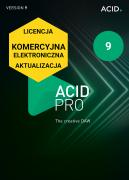 ACID Pro 9 (licencja elektroniczna, komercyjna, aktualizacja)