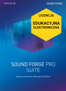 Sound Forge Pro 12 Suite (+SpectraLayers Pro 5) (licencja elektroniczna, edukacyjna)