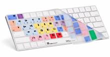 Nakładka LogicSkin MAC AVID Media Composer (US, Magic Keyboard bez klawiatury numerycznej) LS-MCOM4-MAGC-US
