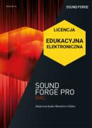 Sound Forge Pro Mac 3 (licencja elektroniczna, edukacyjna)