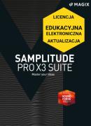 MAGIX Samplitude Pro X3 Suite (licencja elektroniczna, edukacyjna, aktualizacja z poprzedniej wersji)