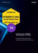 Vegas Pro 16 (elektroniczna, komercyjna, aktualizacja)
