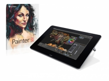 Tablet graficzny LCD Wacom Cintiq 27QHD + Corel Painter 2017