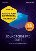 Sound Forge Pro 14 Suite (licencja elektroniczna, komercyjna, aktualizacja)