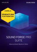 SOUND FORGE Pro 15 Suite (licencja elektroniczna, edukacyjna)