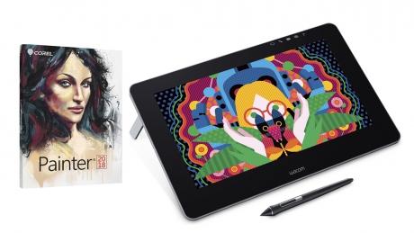 Tablet LCD Wacom Cintiq Pro 16 + Corel Painter 2018