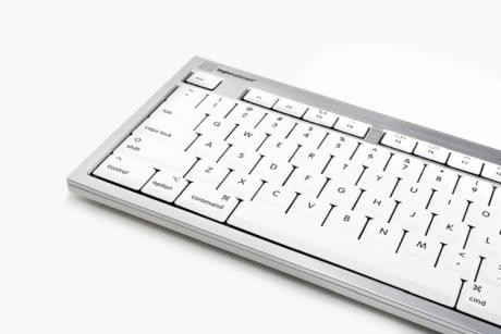 Klawiatura MAC Logickeyboard Premium (typ: DE - niemiecka, ALBA) SKB-CWMU-DE