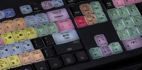 Klawiatura PC podświetlana dla Vegas Pro (typ: US, Astra) LKBU-VEGAS-APBH-US