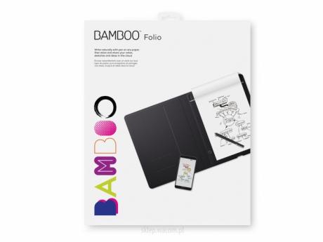 Cyfrowy notatnik Bamboo Folio A4 CDS-810G